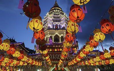 Кек Лок Си-храм Высшего Блаженства на Холме Журавлей