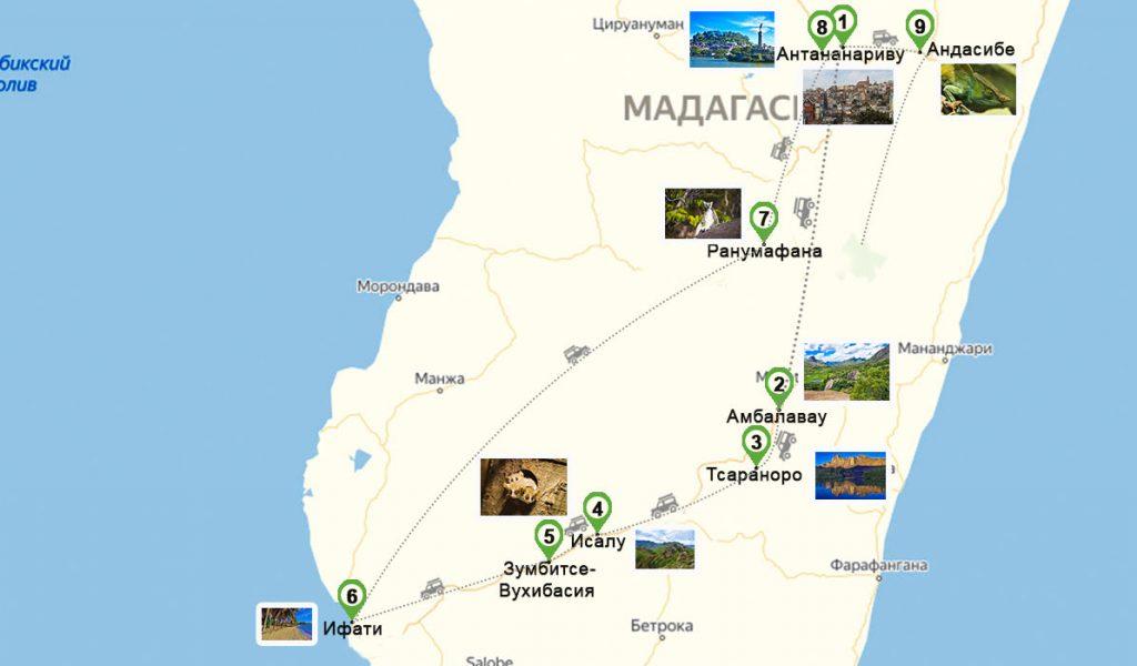 Карта Мадагаскар1