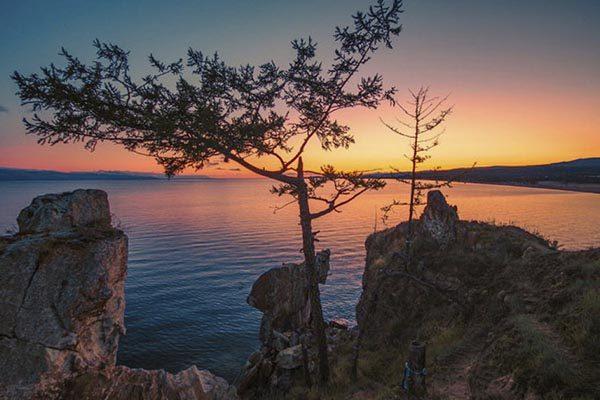 Байкал закат