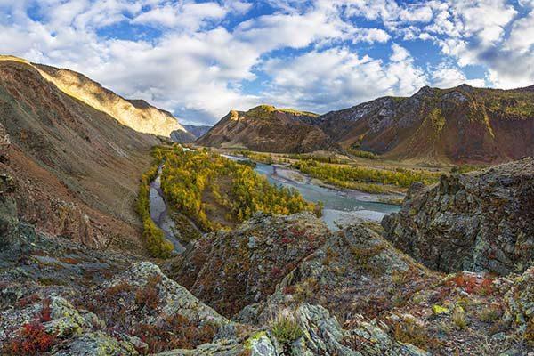 Долина реки Чулышман-1