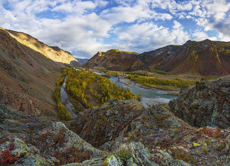 Долина реки Чулышман1
