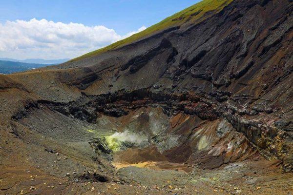Lokon crater